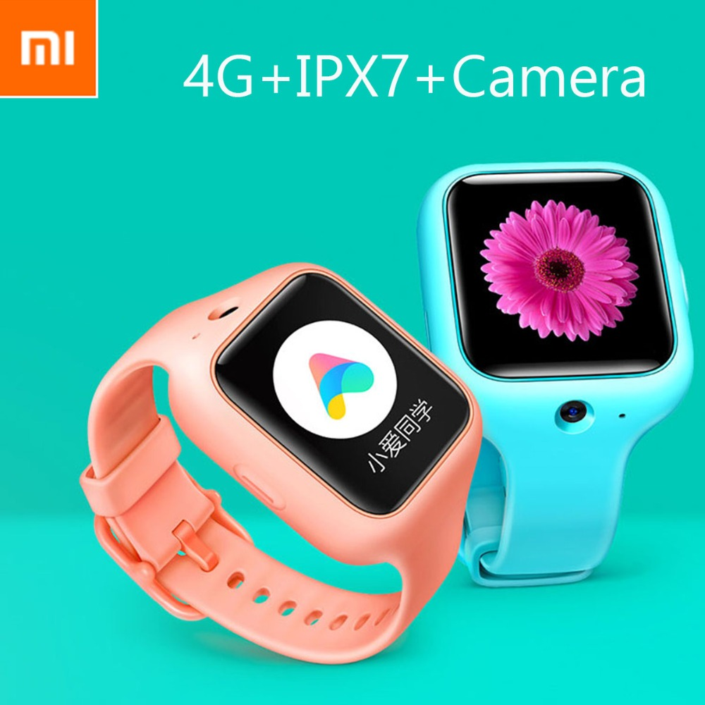 Xiaomi Kid Smart Watch Sim Gps With Camera Tracker Phone Call Mobile Ipx7 Watch With 1g