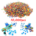 10000 PCS Crystal Gun Paint Ball Bullet Soft Water Gun Paintball Bullet Gun Toy  Orbeez Accessories Most Pistol Paintball