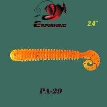 Fishing Lures Soft Lure 10pcs 6.2cm/1.5g Esfishing Active Slug Pesca  Crankbait Carp Fishing Lures Fake lure Tackle Isca Trolls