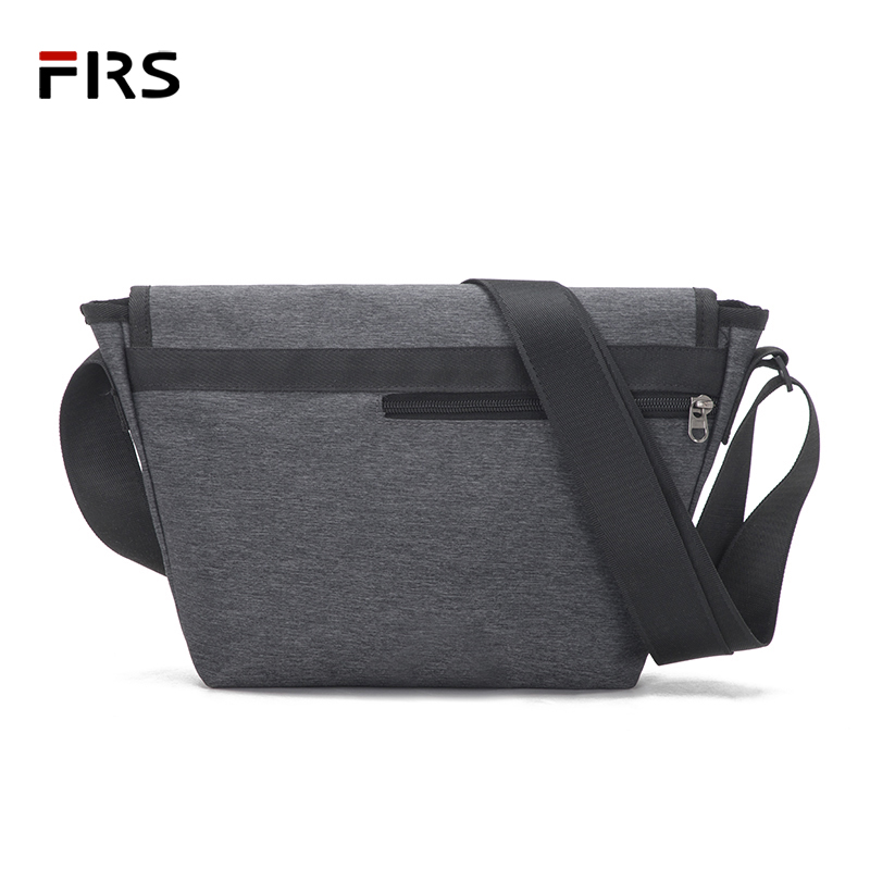 6046ca5b85c6 US $26.57 |FLRS New Men Crossbody Bag Canvas Small Quality Canvas Grey  Shoulder Messenger Bags Handbag Chest Pack Bags for Boy Flap-in Waist Packs  ...