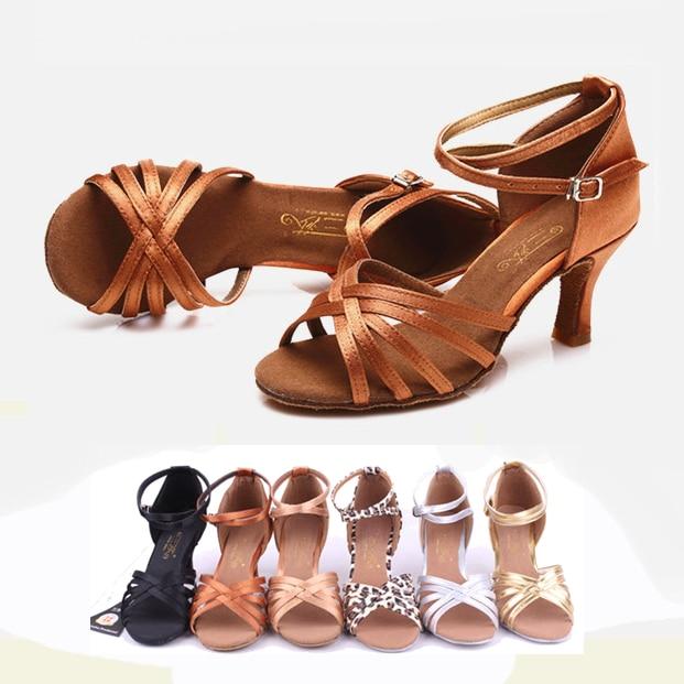 Brand New Women's Dance Shoes Heeled Tango Ballroom Latin Salsa Dancing Shoes For Women On Sale
