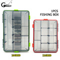 Рыболовная коробка для наживки  водонепроницаемые пластиковые коробки для приманки  рыболовные снасти  рыболовные аксессуары  ящик для сна...