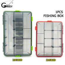 Fishing Box for Baits Waterproof Plastic Lure Boxes Fly Fishing Tackle