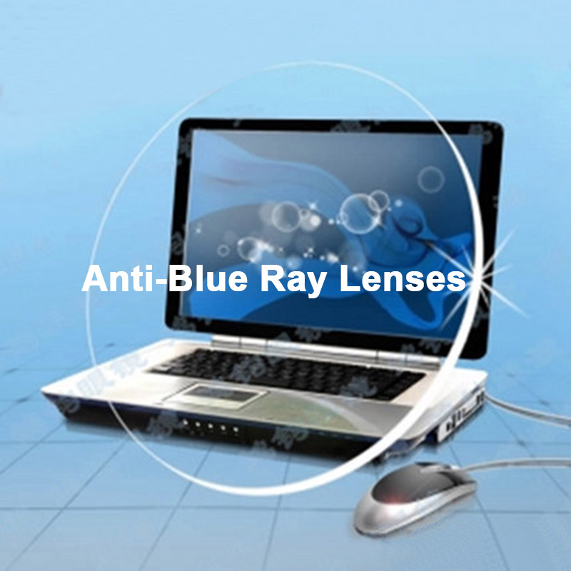 Image 4 - Logorela Anti Blue Ray Lens 1.61 Free Form Progressive Prescription Optical Lens Glasses Beyond UV Lens For Eyes Protection-in Eyewear Accessories from Apparel Accessories