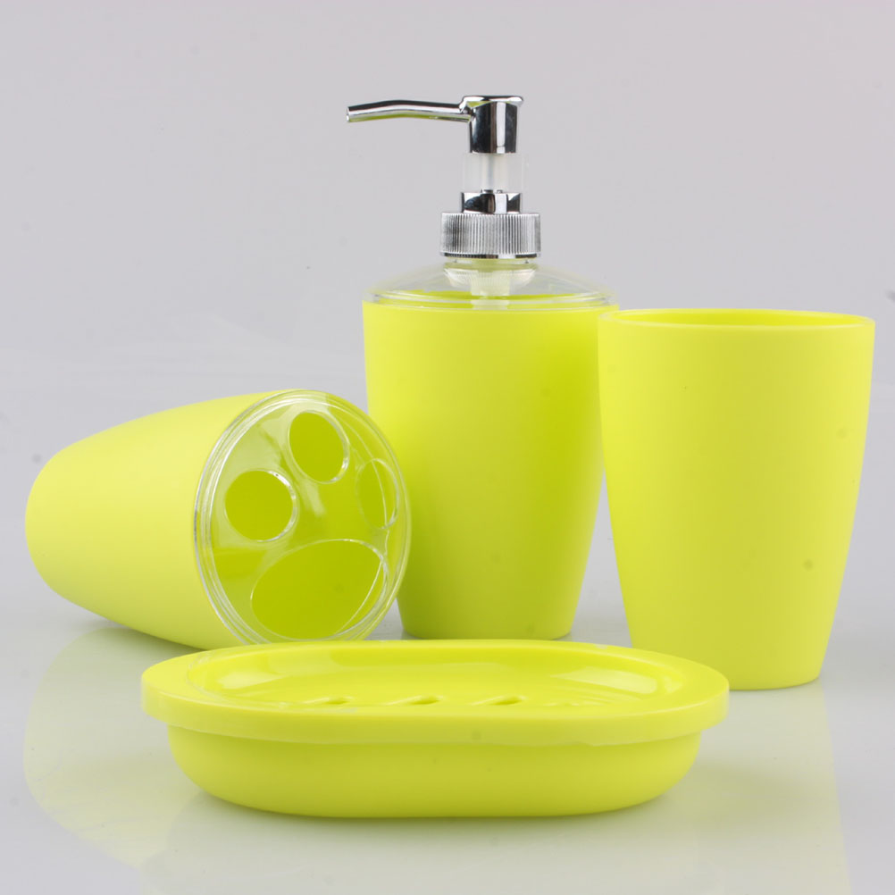 Online get cheap bathing sets alibaba group for Bathroom accessories plastic
