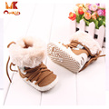 Monkids 2017 Soft Baby Shoes Warm Cotton Baby Shoes Boots Baby Shoes First Walkers Neutral Shallow Infant Girl/Boy Shoes