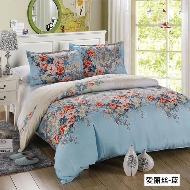 Bon Free Shipping Hot 4pcs Bed Set Satin Jacquard Home Textile Bedding Sets Flower  Bed Sheet Linen Duvet Cover Pillowcase Queen King In Bedding Sets From Home  ...
