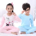 Small Children in the Thin Cotton Underwear Baby home Base Underwear Suit Children Cotton Sweaters In Autumn And Winter