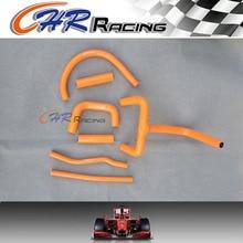 Комплект силиконовых шлангов радиатора для KTM LC4 620 625 640 660 оранжевый