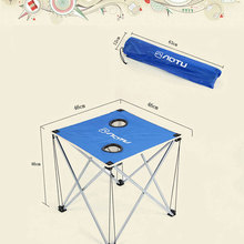 Portable Outdoor Folding Table Ultralight Foldable Table for Camping Hiking Picnic Foldable Table with Bag