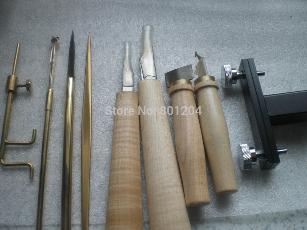 9 PCs Quality Violin Luthier tools violin making tools sewor sw031 mechanical male watch page 6