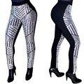2016 Новый дизайн топ высокая талия полная длина bodycon брюки женские сексуальные брюки