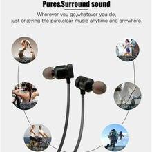 Magnet Wireless Bluetooth Sport Headset Stereo Bass Earbuds Standby Time 150 h Neckband Headphone Ga