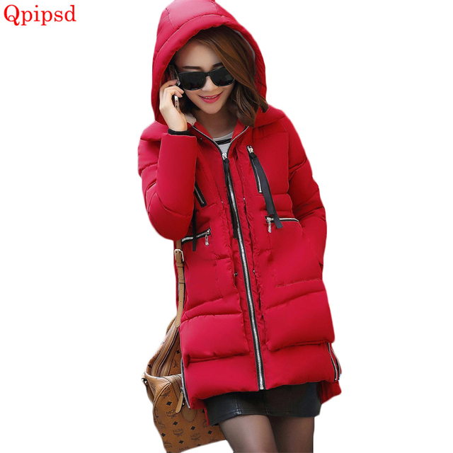 aec502c83e2 Plus size 5XL Winter hooded jacket 2018 Korean fashion long warm cotton-padded  coats women loose down cotton parka female jacket