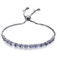 Party kleider mode Armband weiß cz einstellung charme Armbänder für frauen neue design indische schmucksachen Freies versand
