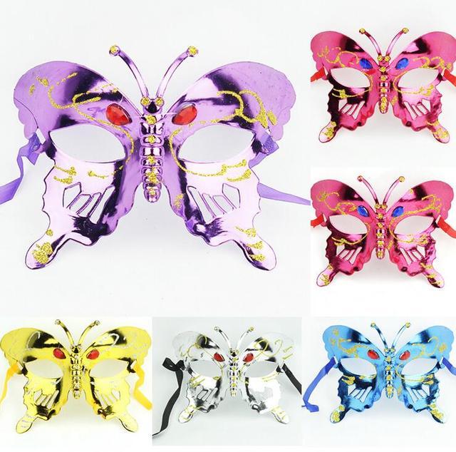 NEUE Halloween maske kinder maskerade maske farbige zeichnung oder ...