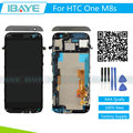 Display For HTC One M8s LCD Display Digitizer Touch Screen with Frame Screen Assembly M8s Display Black