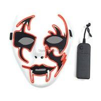 Moda Carnaval Pascua Máscara Forma de Flecha de Neón Tira Llevada Brillante Partido Lindo Máscara Cosplay Costume Party Rave, Graduación, Cosplay
