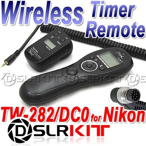 Wireless Timer Remote for Nikon D4 D3X D3s D2Xs Fuji S3 S5 Pro D800 D700 D300S D300 D200 D3 прицел nikon monarch 3 2 8x32 w bdc