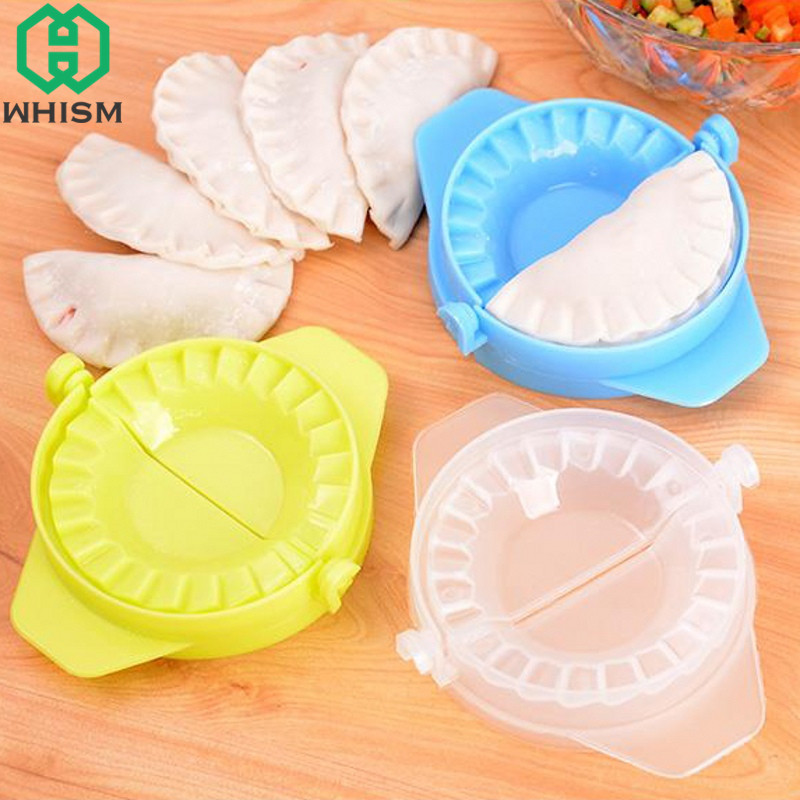 WHISM Multifunction Plastic Ravioli Mould Cutter Dumpling Maker Form Wrapper Presser Molds Cooking Pastry Cutter Kitchen Tools