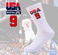 Men Socks Casual New 2016 1st Usa Dream Team Calcetines Hombre Mens Basket ball Cotton Thick Towel Sock For Man Woman's