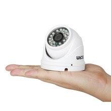 Escam Peashooter QD520 IP Onvif Soporte de la Cámara 720 P H.264 1/4 CMOS 3.6mm Lente Fija de Visión Nocturna P2P Mini Domo PT cámara