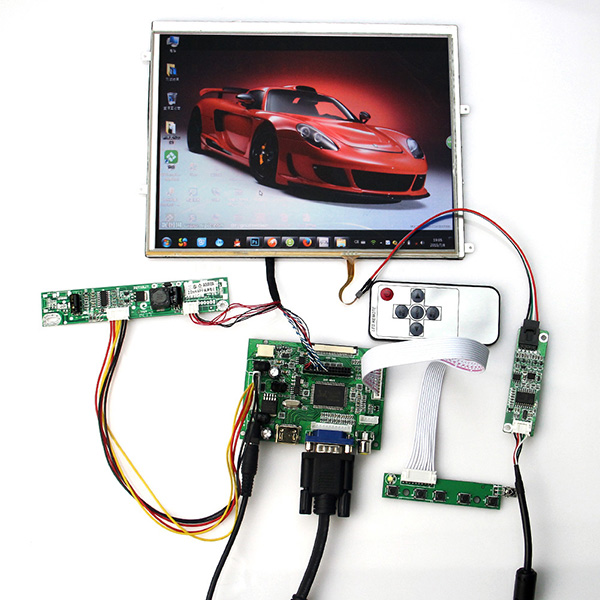 LCD Controller Driver Board 9.7inch LTN097XL01 1024x768 Touch Screen Panel