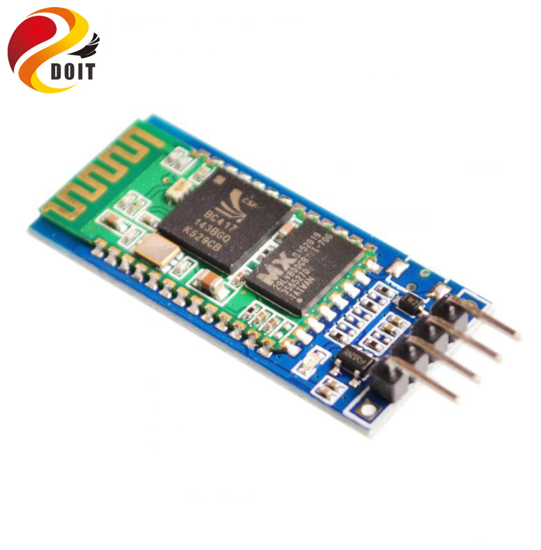 <font><b>HC06</b></font> HC-06 Wireless Serial 4 Pin Bluetooth RF Transceiver Module RS232 TTL For <font><b>Arduino</b></font> Bluetooth Module image