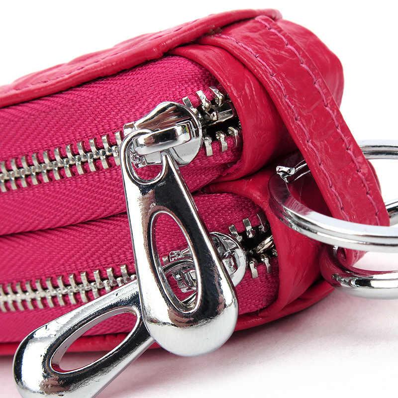 Corfeiter женская сумка с крокодиловым узором из натуральной коровьей кожи, сумка для ключей, мужская сумка для ключей, маленькая сумка, Кошелек 7