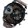 2017 Men Watches Sports Army Big Dial Wrist Watch Male Leather Bracelet Quartz Watch Analog Military Clock Horloges Mannen