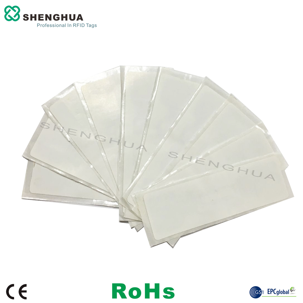 10pcs/pack UHF ALN9662 Smart RFID Logistics Label Tag H3 Chip UHF Rfid Wet Inlay For RFID Asset Tracking System