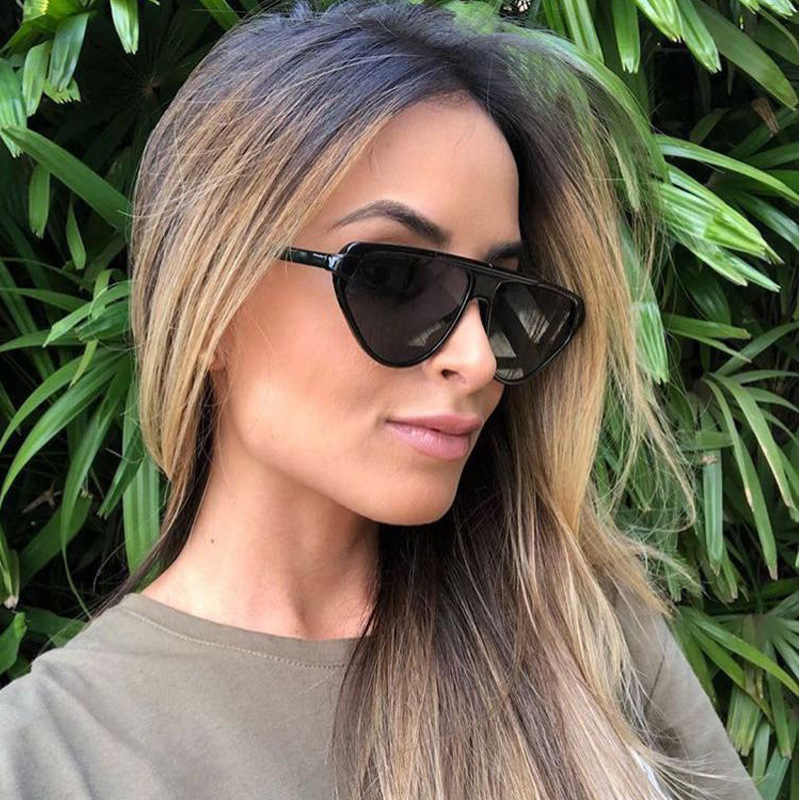 6c004151036 Brand Cat Design Vintage Sunglasses Women 2019 Luxury Style Eye Sun Glasses  Shades for Women Flat