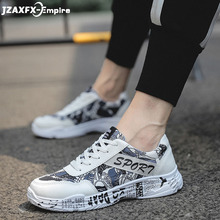 Men Printed Shoes Lace-up Casual For shoes Top Quality zapatillas hombres Sneaker for men