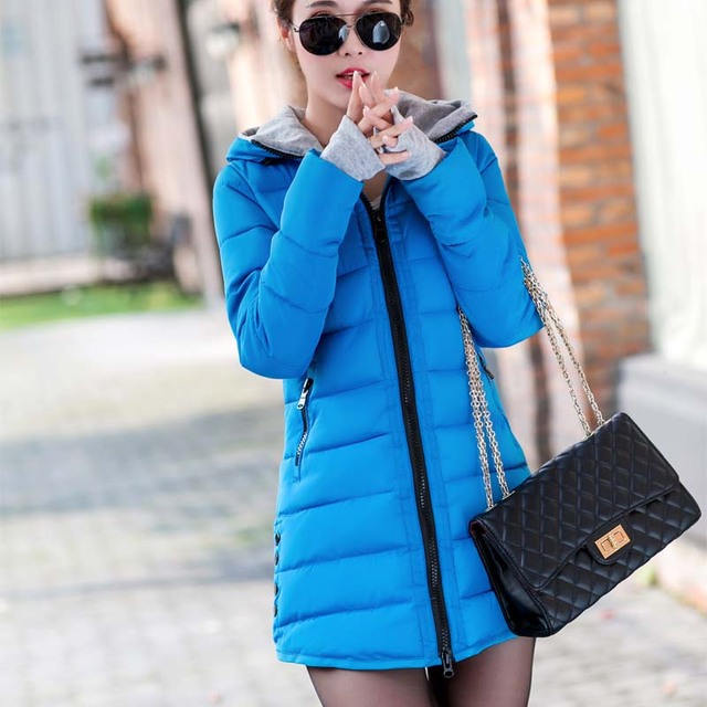 Fanmuer 2020 Women Winter Jackets Parka Wadded Clothing Female Slim Parkas Cotton Coats with Hooded Ladies Outwear Overcoats