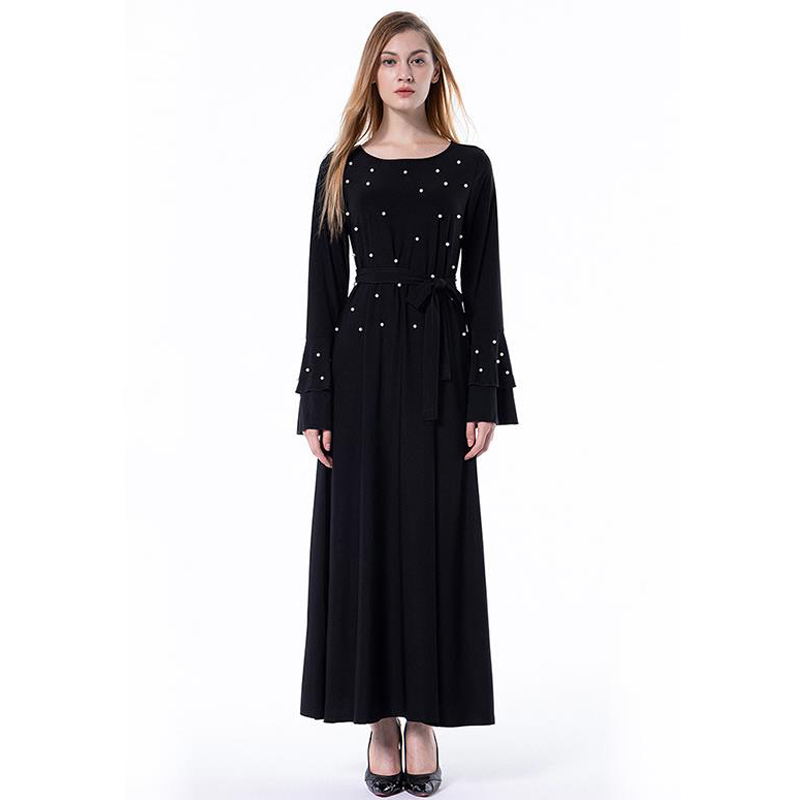 Women's Clothing Muslim Abaya Dubai Turkish Qatar Long Floral Kimono Cardigan Hijab Dress Jilbab Robe Musulmane Abayas For Women Islamic Clothing Online Discount