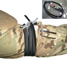 EDC dişli kamp turnike tıbbi açık ekipmanları askeri hayatta kalma tıbbi temel araçları savaş taktik kemer bandaj kiti