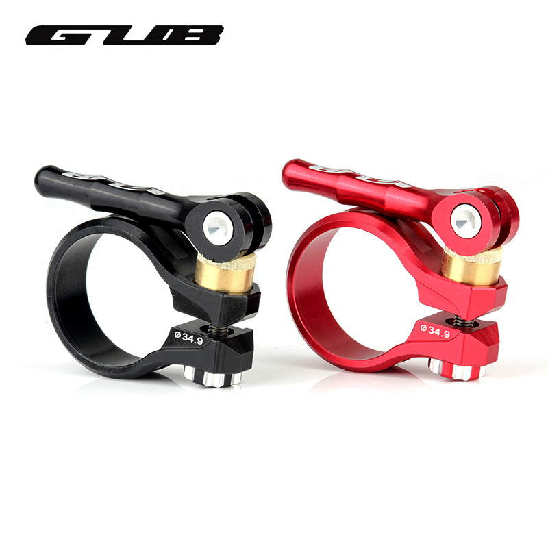 31.8mm 34.9mm GUB Mountain Bike Seatpost Clamp Aluminum Quick Release Bicycle Seat Post Clamp Cycling Clamping Clip bicycle seat clamp post folding hook aluminum alloy for brompton seatpost clamp bike part