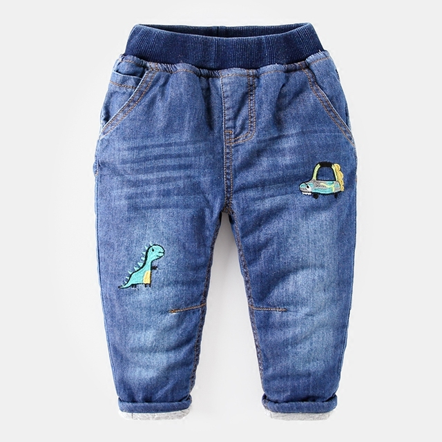 Baby jeans trousers kids children quilted pants boy thick winter ... : quilted trousers - Adamdwight.com