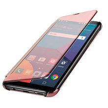 Case Voor Samsung Galaxy S9 S8 Plus S5 S6 S7 Rand J3 J5 J7 A3 A5 A7 2016 2017 A8 2018 Smart Helder Oppervlak View Flip Cover(China)