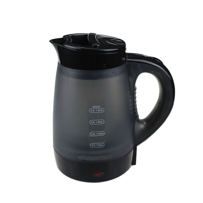 0.4L Electric Kettle 600W Portable Travel Camping Water Boiler For Home Office Boil Kettle European Plug new arrival portable travel abroad electric kettle 0 5l mini electric kettle wst 0903 european travel kettle 110 240v 550 650w