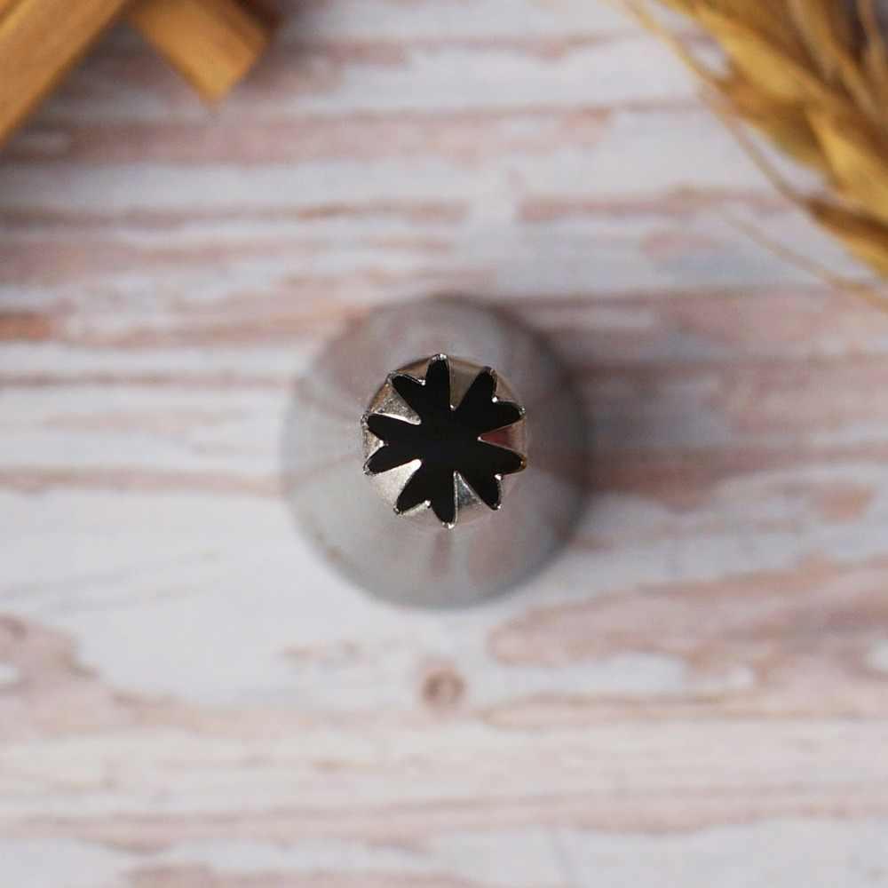 # 3F Kleine Größe Tropfen Blume Rohrleitungen Düse Kuchen Dekorieren Creme Gebäck Cupcake Schaffen Kirschblüten Sakura Icing Spitze