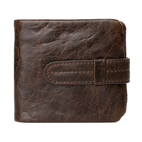2017 New Famous Brand Men Wallets Luxury Genuine Cow Leather Design Male Purse With Coin Pocket
