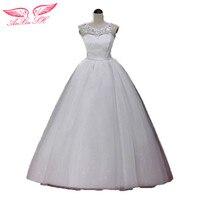 Flower Wedding Dress Plus Size Bridal Wedding Dress Double Shoulder Lace Wedding Dress Brief