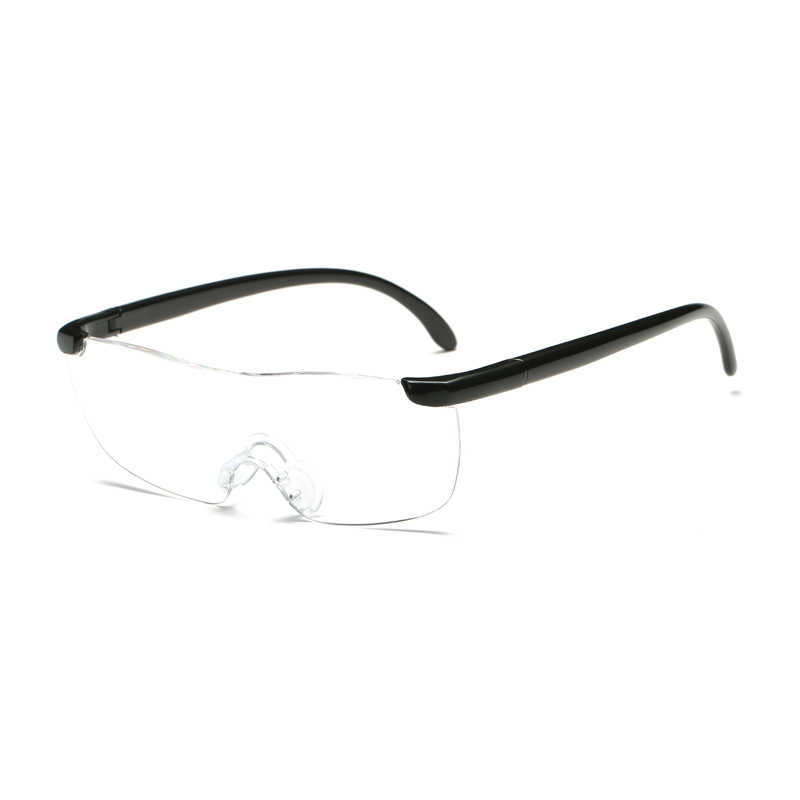 831c828019f 1.6 Times Big Vision Magnifier Glasses Men Women Reading Glasses Magnifying  Presbyopic Eyewear Gift For Needle