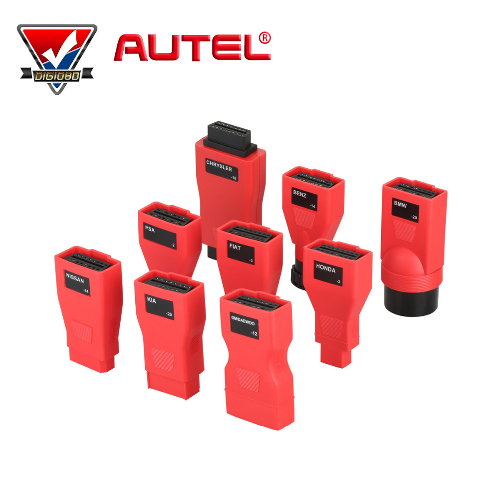 Autel MaxiDAS DS808 Automotive Diagnostic OBD I full Connector use with Autel DS808 update from ds708