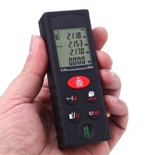 On sale HILDA Portable Handheld Laser Range Finder 40/60/80/100M Meter Mini Laser Tape Bereik Finder Diastimeter Maatregel
