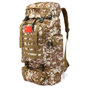 Image 3 - 70L Large Capacity Backpack Waterproof Nylon Military Tactics Molle Army Bag Men Backpack Rucksack for Hike Travel Backpacks