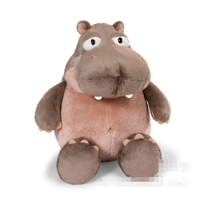 NICI plush toy stuffed doll cute little hippopotamus hippo animal fat river horse bedtime story baby birthday christmas gift 1pc cute poodle dog plush toy good quality stuffed animal puppy doll model soft doll kids gift baby toy christmas present
