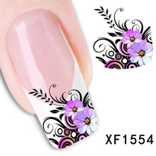 Nail Art Sticker And Decals Water Transfer Adhesive Nails Decoration Nail Art Fingernail Decorations Nails Stickers