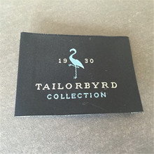 Customized clothing tags washable garment labels /custom woven for brand name